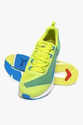 Puma Ignite Xt Sulphur Spring-Cloisonn�� Training Shoes(Yellow)