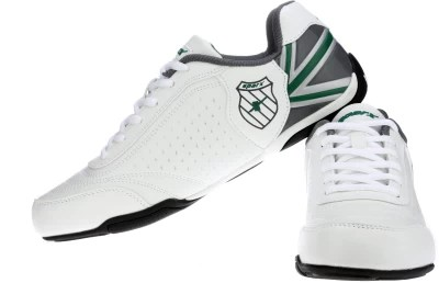Sparx Running Shoes(White, Green)