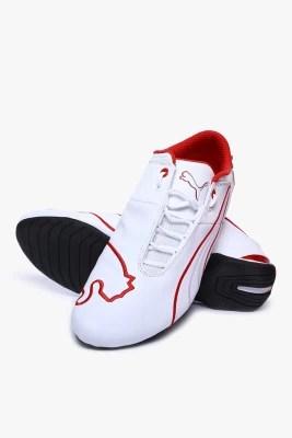Puma Ferrari Future Cat M1 Sf White Motorsport Shoes(White)