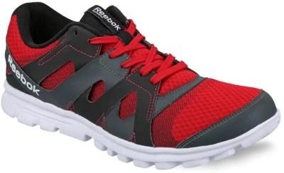 Reebok Men Running Shoes(Black, Grey, Red)