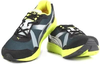 Puma Propeller DP Men Running Shoes(Green, Grey)
