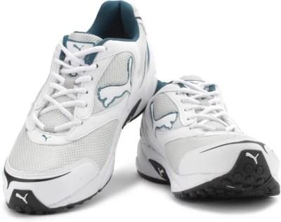 Puma Aron DP Men Running Shoes(Silver, White)