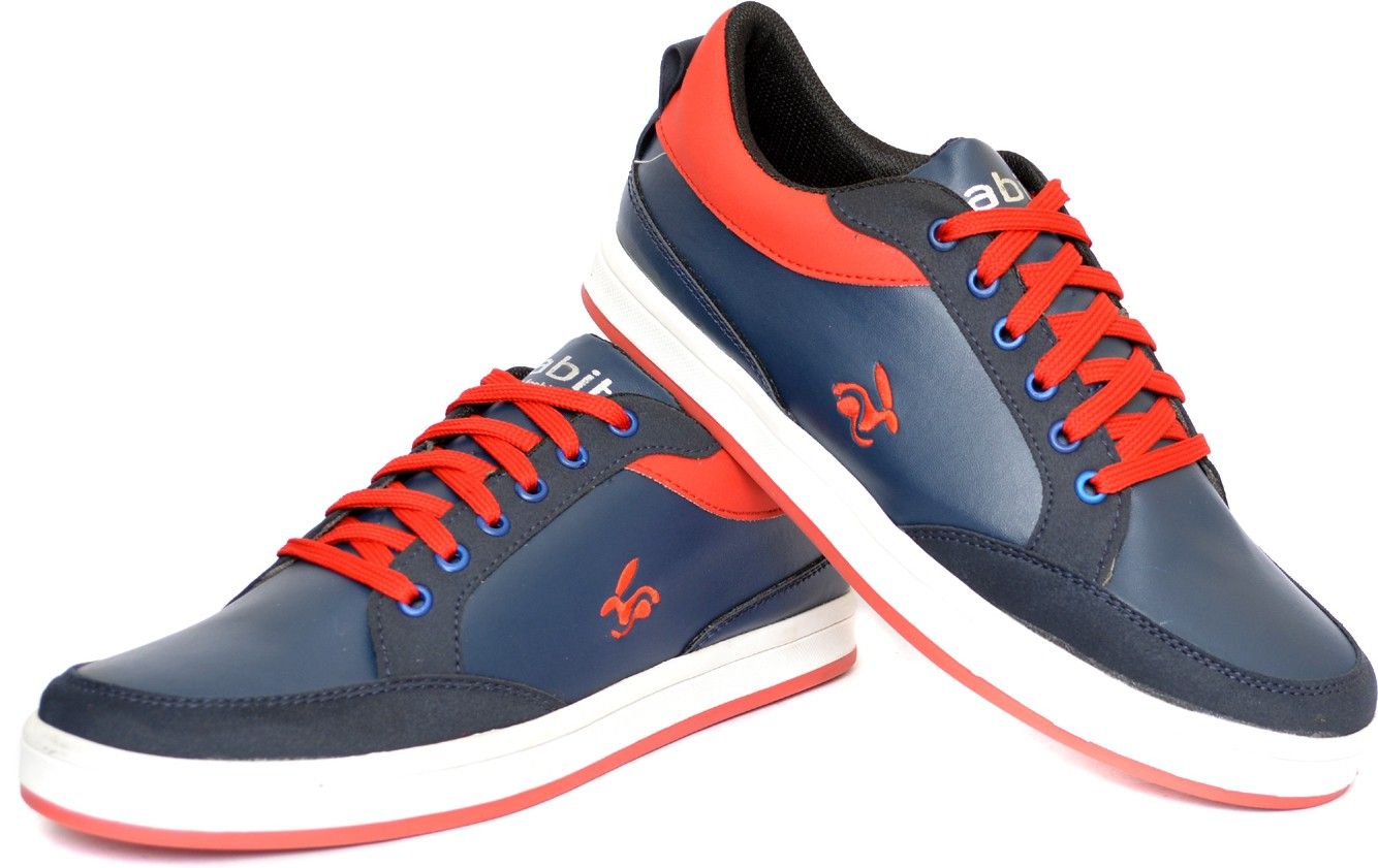 Rabit R7012HR Casual Shoes(Blue, Red)