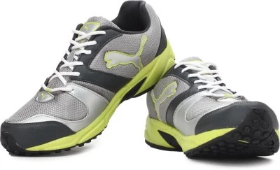 Puma Strike Fashion II DP Men Running Shoes(Silver)