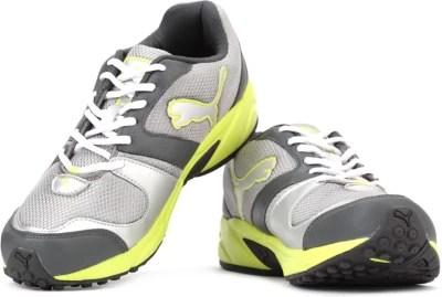 Puma Strike Fashion II DP Men Running Shoes(Green, Grey)