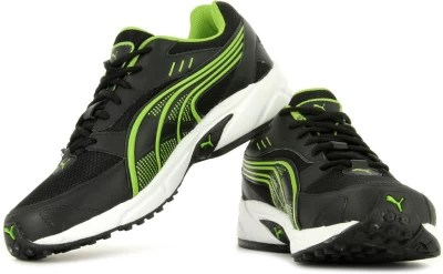 Puma Atom DP Men Running Shoes(Green, Black)