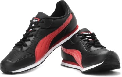 Puma Street Rider Ind/ Running Shoes(Red, Black)