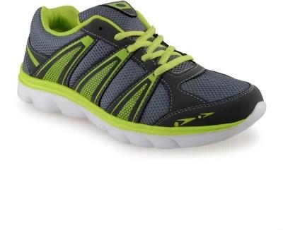 Lancer Saggi Dark Grey Parrot Green Running Shoes(Grey)