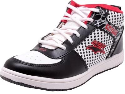 Lancer Running Shoes(Black, Red)