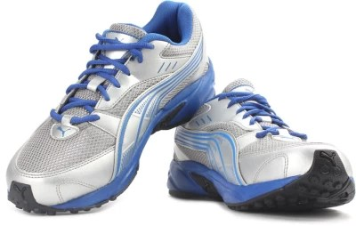 Puma Pluto-DP Men Running Shoes(Blue, Grey)