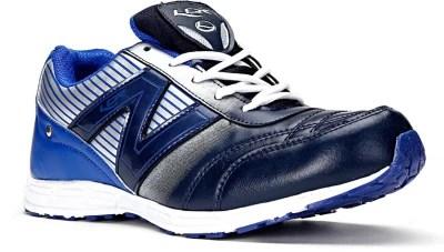 Lancer Running Shoes(Blue, Silver)