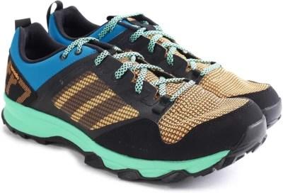 Adidas KANADIA 7 TR M Men Running Shoes(Black, Blue, Green)