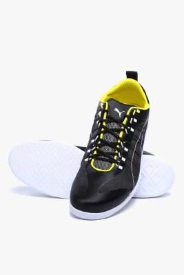 Puma Ferrari Techlo Everfit+ Night Cat Sf Black Motorsport Shoes(Black)