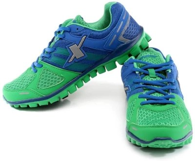 Sparx Running Shoes(Blue, Green)