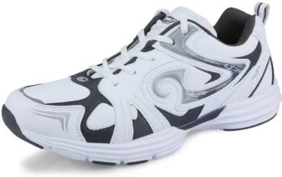 Lancer LCR-02 White & Grey Running Shoes(White, Grey)
