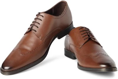 Van Heusen Lace Up Shoes(Brown)