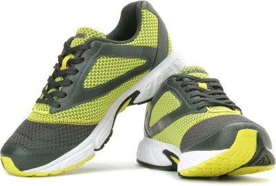 Reebok Cruise Runner Lp Running Shoes(Grey, Yellow)