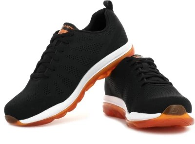 Skechers Skech-Air - Game Changer Training & Gym Shoes(Black, Orange)