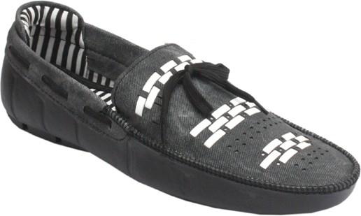 Padatra Stylish Boat Shoes(Black)