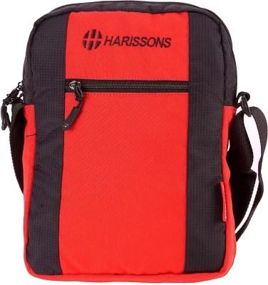Harissons Men Black Polyester Sling Bag