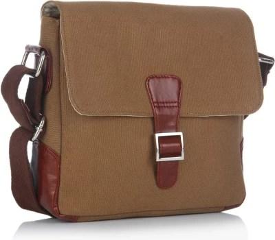 Louise & Harris Men Casual Brown Leatherette Sling Bag
