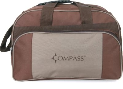 Compass Deluxe Medium Size Small Travel Bag  - Medium(Brown)
