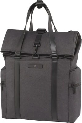 Victorinox Architecture Urban Voltaire 2-Way- Carry Tote / Backpack Small Travel Bag(Grey)