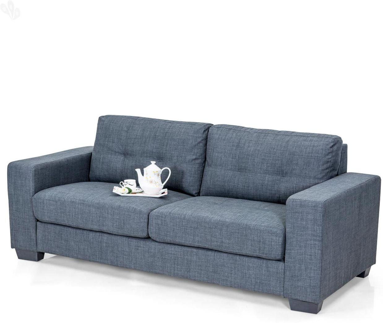 sofa foam cushions price india donate london royal oak fabric 3 seater grey furniture in