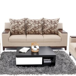 Cheapest Sofa Set In Chennai How To Buy Leather Furnicity Fabric 3 43 1 Beige Configuration
