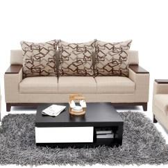 Cost Of Sofa Set In Kolkata Formal Sofas Furnicity Fabric 3 43 1 Beige Configuration