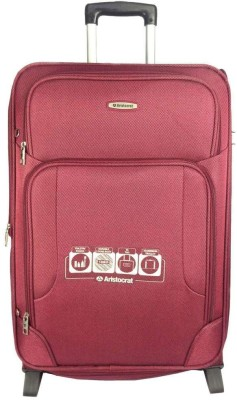 Aristocrat Turbo 2W EXP Strolly 64 Expandable  Check-in Luggage - 22 inch(Red)
