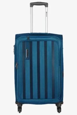 Safari Lino Expandable  Check-in Luggage - 29 inch(Blue)