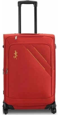 Skybags Martin 4w strolly large red Check-in Luggage - 35 inch(Red)