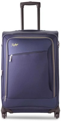 Skybags ELAN 4W EXP STROLLY 68 BLUE Check-in Luggage(Blue)