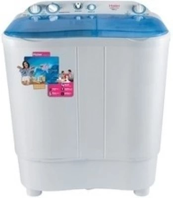 Haier 6.5 kg Semi Automatic Top Load Washing Machine(XPB 65-116S)