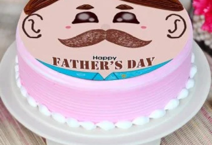 Fathers Day Cake Happy Fathers Day Cakes Online Floweraura