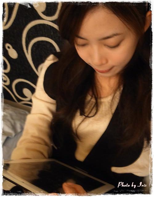 iPad2愛不釋手~