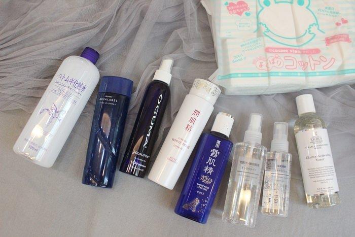 【保養】濕敷的季節~我推薦的9款濕敷化妝水