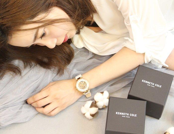 【穿搭】Kenneth Cole 簡約大方都會風格的機械對錶 (情人節送禮推薦~♥)