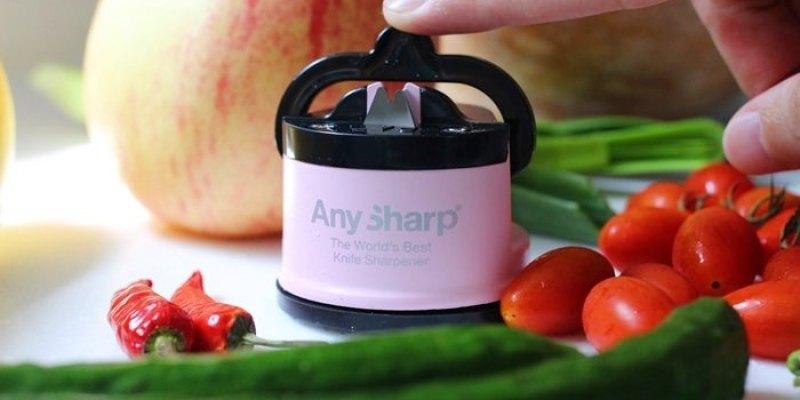 【小廚房】地表上最強最可愛的粉紅色磨刀器:AnySharp