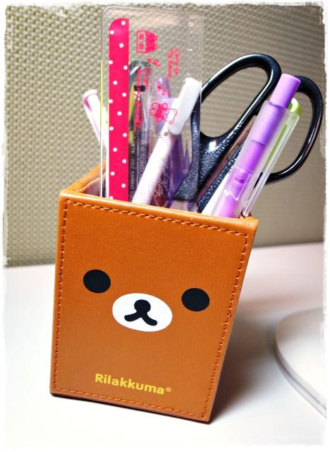 [買淘寶]懶熊/拉拉熊皮革筆筒~*Rilakkuma*