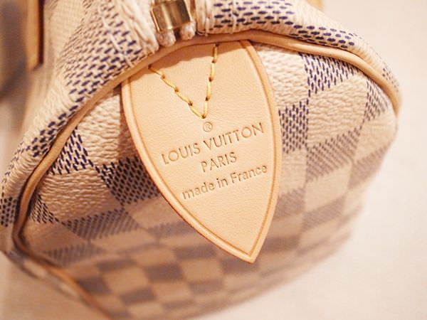 Louis Vuitton-LV-speedy 25-白色棋盤格 N41534-中夾-名片夾-零錢包-monogram-my wedding gift (13)
