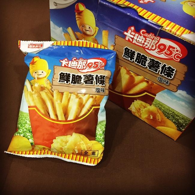 【貪吃】costco好市多零食~卡迪那鮮脆薯條! - 原來是美花