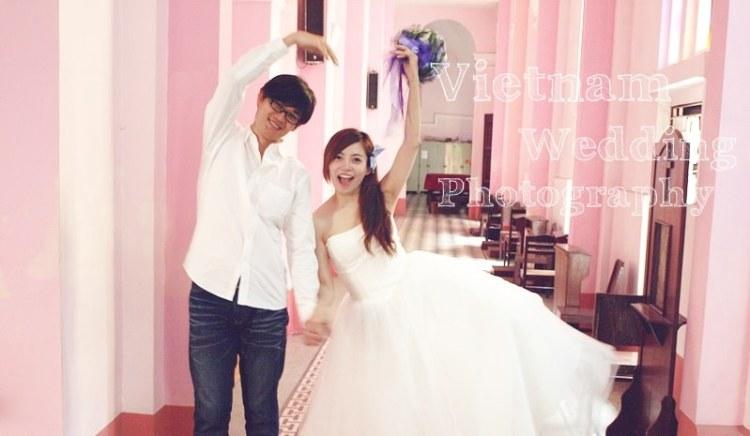【Vietnam越南旅遊】超瘋狂!我的越南自助婚紗@粉紅教堂Nhà thờ Tân Định