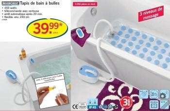 tapis de bain a bulles