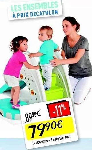 modulogym baby gym mat