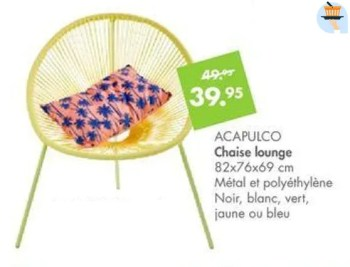 acapulco chaise lounge