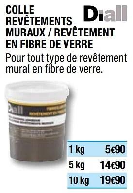 Promotion Brico Depot Colle Revetements Muraux Revetement En Fibre De Verre Diall Bricolage Valide Jusqua 4 Promobutler