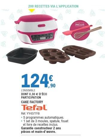 https www promobutler be fr e leclerc promotions promotion tefal chez e leclerc tefal cake factory yy4377fb dautres appareils de cuisine appareils divers id 7317092