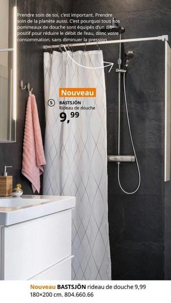 bastsjon rideau de douche